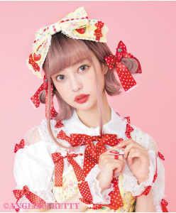 [Reservation] Little Bunny Strawberry Headbow