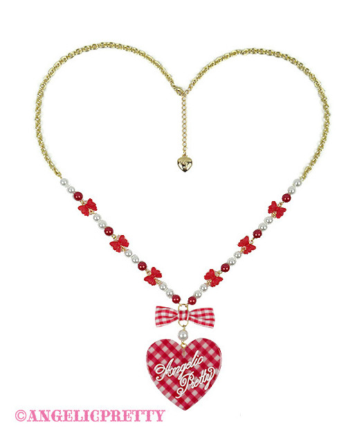 [Reservation] Lovely Gingham Necklace