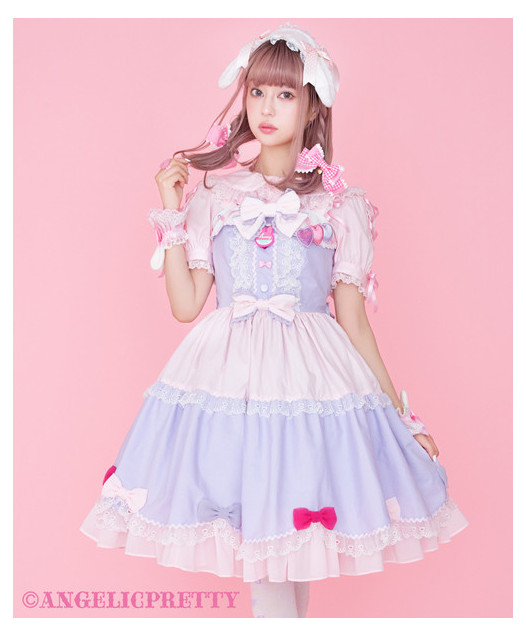 [Reservation] Ribbon Party Jumperskirt