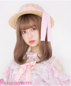 [Reservation] Airy Tulle Straw Hat
