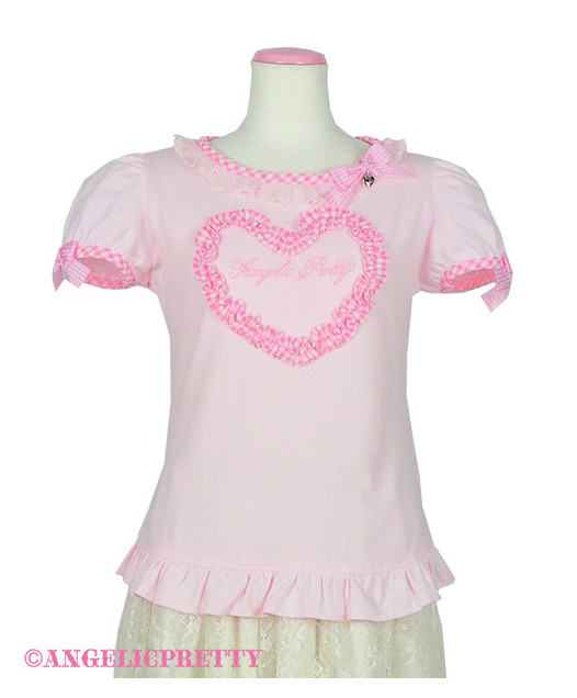 [Reservation] Gingham Heart Cutsew