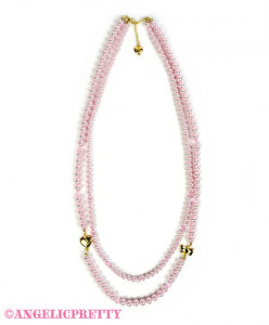 [Reservation] Twin Pearl Necklace