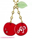 [Reservation] Twin Cherry Necklace