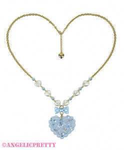 [Reservation] Topping Heart Necklace
