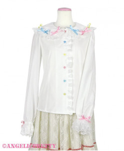 [Reservation] Colorful Ribbon Blouse