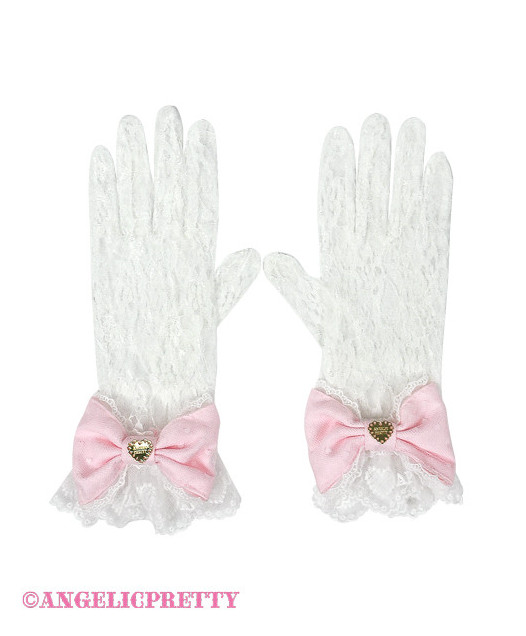 [Reservation] Heart Lace Gloves