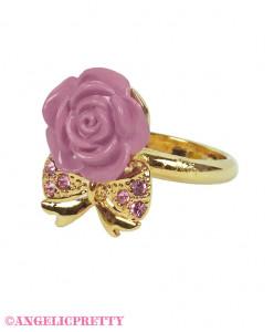 [Reservation] Rose Ribbon Ring