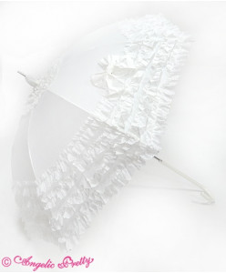 Ruffle Millefeuille Umbrella