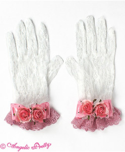 Rose Princess Lace Gloves