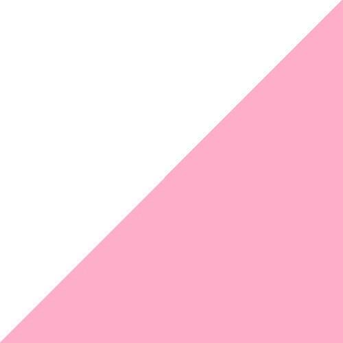 White x Pink